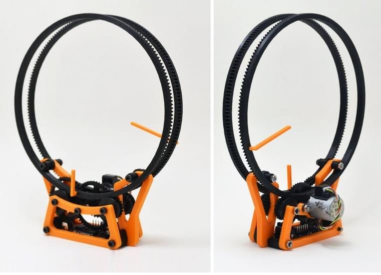 reloj holográfico - Los Mejores motores paso a paso para Arduino