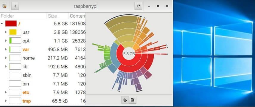 raspberry Pi disk manager - 5 maneras de escritorio remoto en Raspberry Pi (Windows/Linux/Mac)