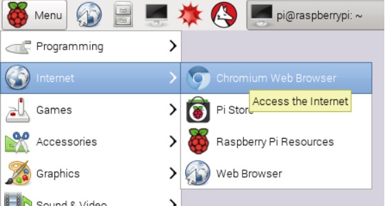 accede a internet con chromium de google - Cómo tener Google Chromium para la Raspberry Pi