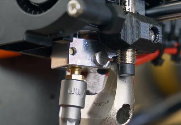 boquilla para impresora 3D - 5 actualizaciones de Prusa i3 MK3S imprescindibles