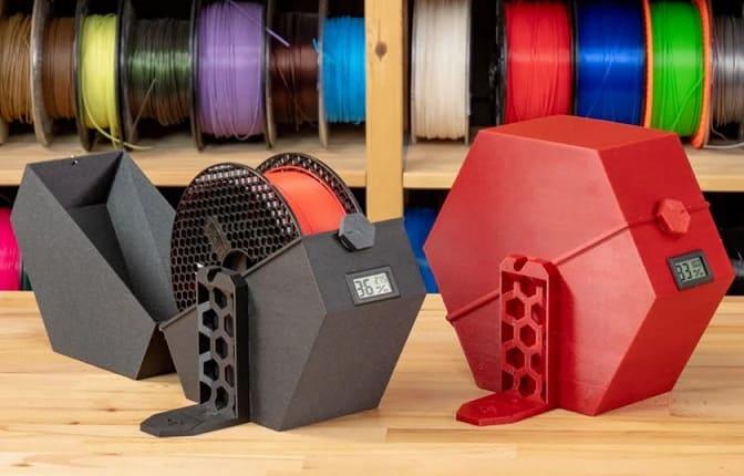 cajas para filamentos de impresion 3d - 5 actualizaciones de Prusa i3 MK3S imprescindibles