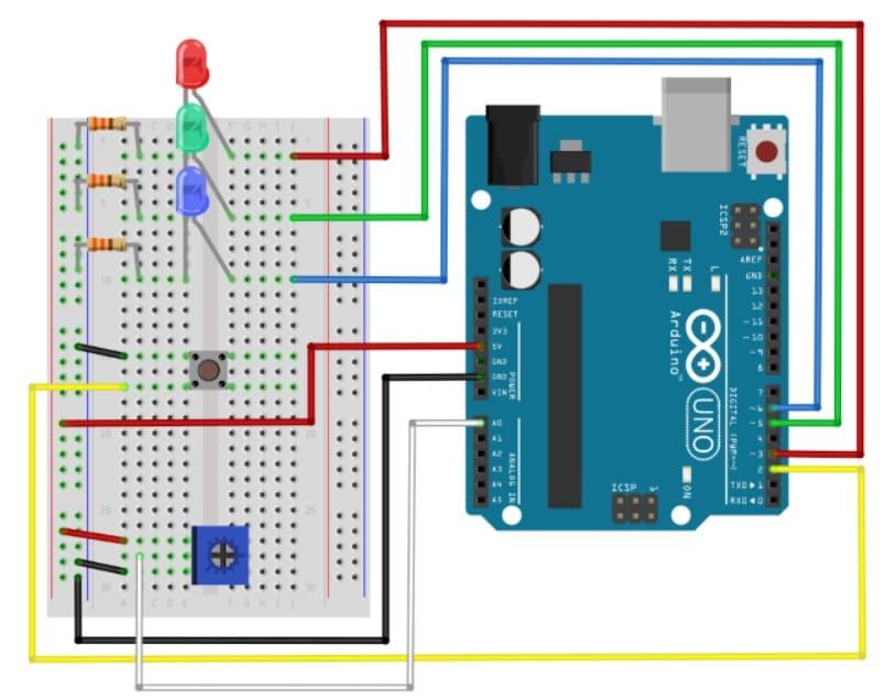 circuito 2 de librería - Cómo construir una librería Arduino