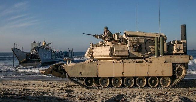 crab 653x340 - El Cuerpo de Marines de los EE.UU. desarrolla un CRAB robótico para limpiar minas en las playas