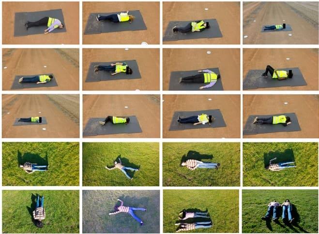 datos de heridos drones - Desarrollan una tecnología para drones que puede decir si los cuerpos están vivos o muertos