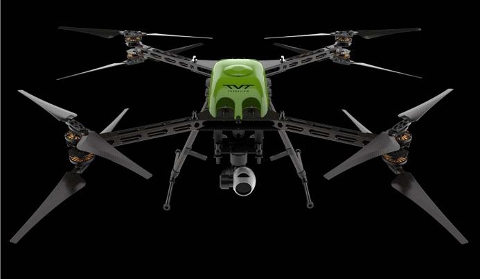 drone de alta autonomia por vuelo - El drone RangePro X8 reclama un tiempo de vuelo de 70 minutos
