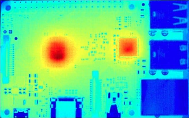 fuentes de calor de Raspberry Pi - Cómo instalar disipadores de calor en una Raspberry Pi 3 B+