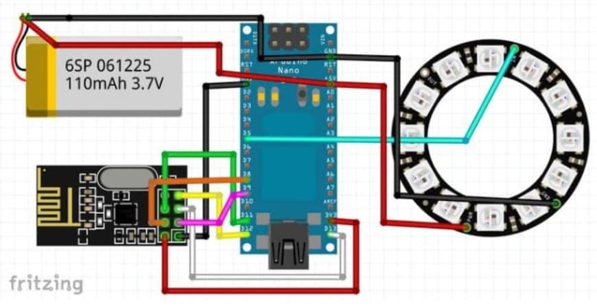 monitor de pulso cardiaco DIY - Cómo construir un Monitor de frecuencia cardíaca portátil Arduino
