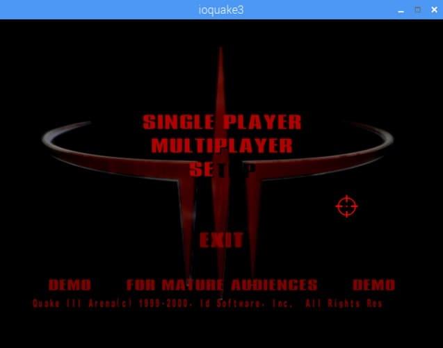 quake 3 en raspberry pi - Cómo instalar Quake 3 en una Raspberry Pi
