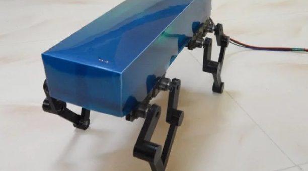 robot cuadrupedo construido con Arduino Nano