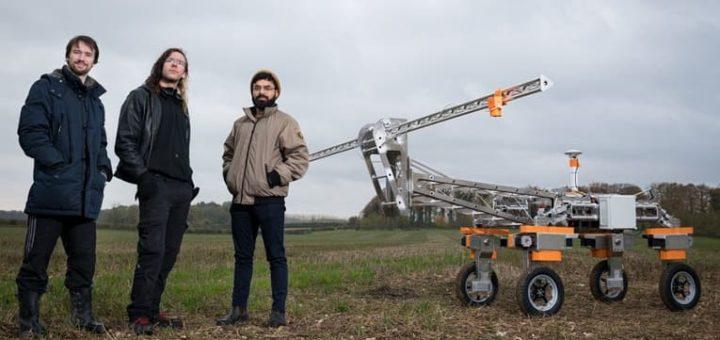 desarrolladores robot granjero