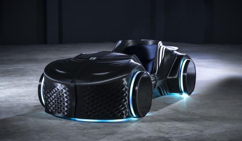 loci - BigRep 3D imprime el coche eléctrico autónomo Loci