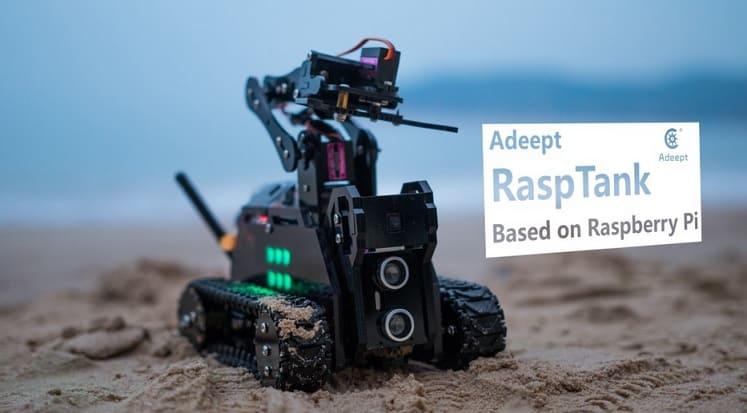 robot construido con una Raspberry pi - 5 Divertidos proyectos de Raspberry Pi para niños