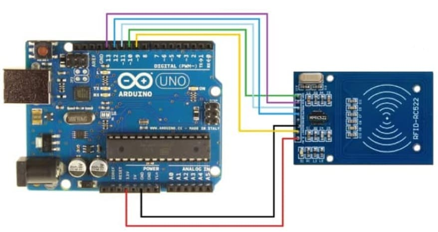 RFID Reader arduino - 9 Sensores para Arduino que debes aprender a utilizar