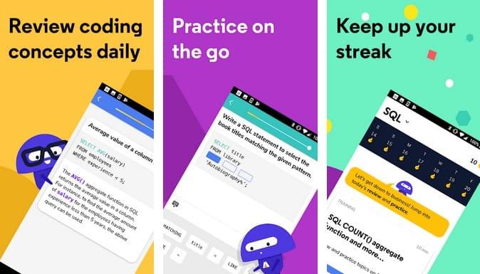 codeacademy Go - 6 aplicaciones para móvil que facilitan la programación