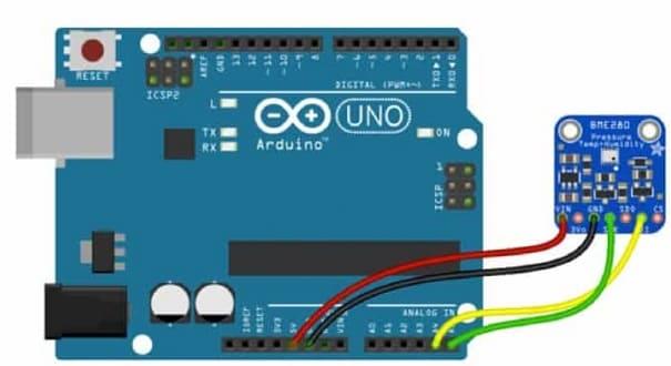 sensor BME280 - 9 Sensores para Arduino que debes aprender a utilizar