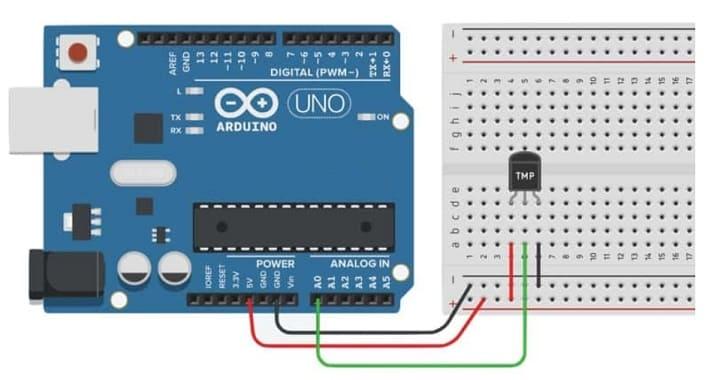 sensor de temperatura Arduino - 9 Sensores para Arduino que debes aprender a utilizar