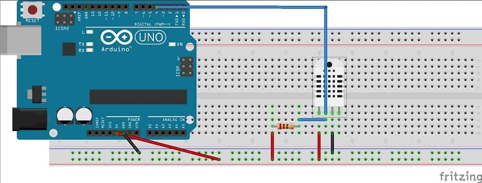 conexion DHT11 Arduino Uno - DHT11, Cómo configurar este sensor de humedad en un Arduino