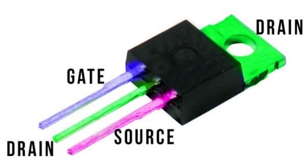 esquema mosfet - ¿Qué es el transistor MOSFET y cómo usarlo con Arduino?