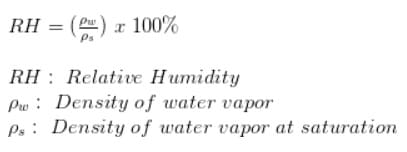 formula humedad relativa - DHT11, Cómo configurar este sensor de humedad en un Arduino