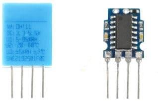 interior DHT11 Sensor - DHT11, Cómo configurar este sensor de humedad en un Arduino
