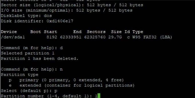 particiones Raspberry Pi - Cómo arrancar una Raspberry Pi 4 desde un disco SSD o HDD
