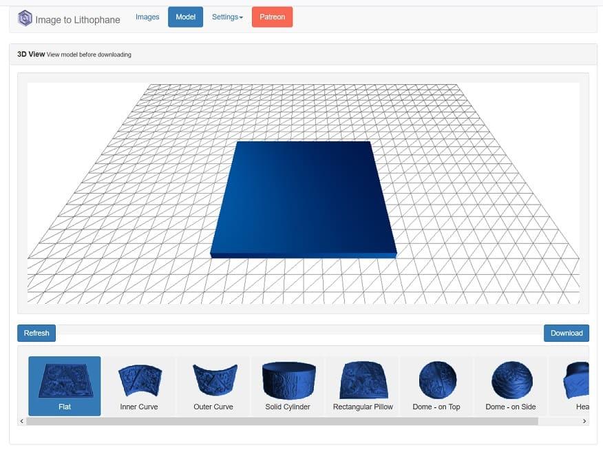 3d rocks - Cómo imprimir en 3D tu propia Litofanía