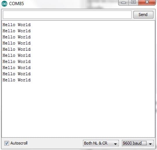 puerto serie con hello world - Cómo funciona el módulo inalámbrico nRF24L01 y su interfaz con Arduino