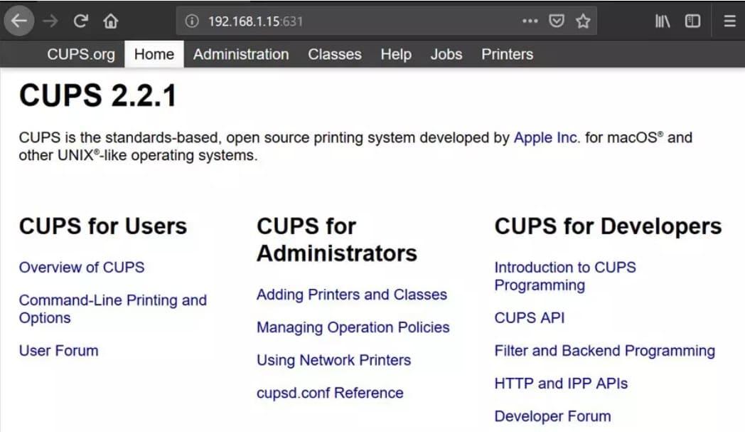 CUPS - Cómo añadir una impresora a tu Raspberry Pi en Raspbian (CUPS)