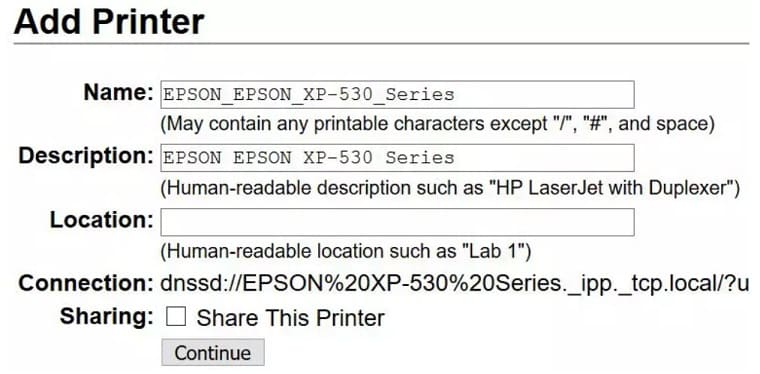 añadir modelo impresora - Cómo añadir una impresora a tu Raspberry Pi en Raspbian (CUPS)