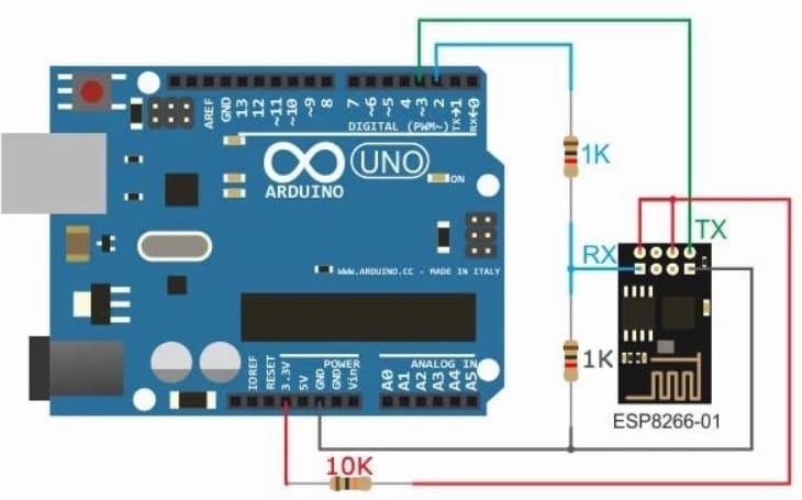 cómo conectar un ESP 01 al Arduino Uno - 5 alternativas a Arduino Uno con conexión WiFi