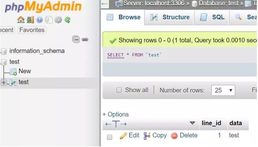 interfaz phpmyadmin - ¿Cómo instalar MariaDB en tu Raspberry Pi?