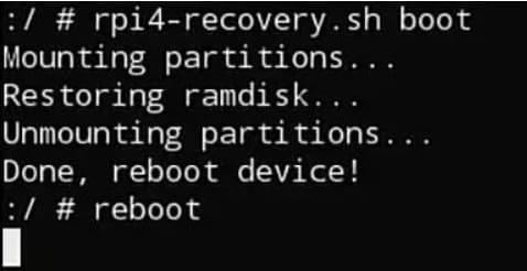 reiniciar Raspberry pi - ¿Cómo instalar Android en Raspberry Pi 4? (con Play Store)