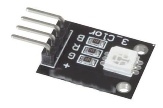 Arduino KY 016 RGB LED modulo - Cómo construir un controlador de tiras LED RGB usando ESP8266