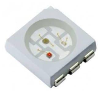 SMD 5050 RGB LED - Cómo construir un controlador de tiras LED RGB usando ESP8266
