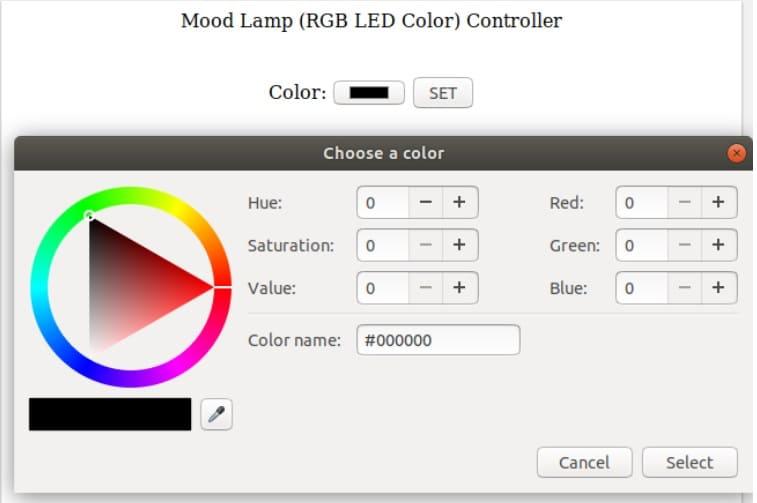 controlador lampara de colores - Cómo construir un controlador de tiras LED RGB usando ESP8266