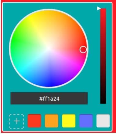 elección de colores led - Cómo construir un controlador de tiras LED RGB usando ESP8266