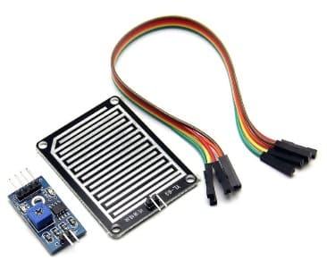 sensor de lluvia - Cómo construir una Estación meteorológica con ESP8266 usando el IDE de Arduino