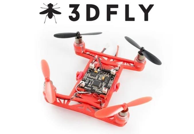 3DFLY Micro Drone - Drones impresos en 3D de Thingiverse que vale la pena hacer