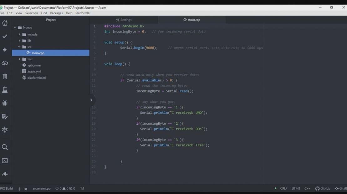 Atom.io Platformio - 5 alternativas increíbles al IDE de Arduino