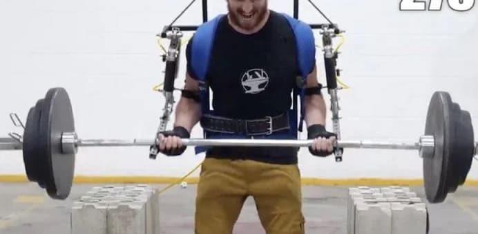 exoesqueleto ironman