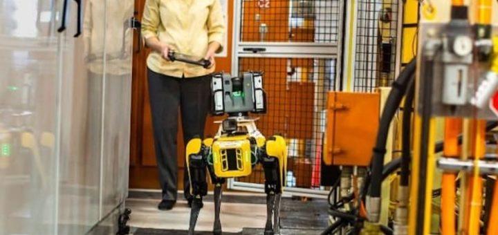 robot spot de boston dinamics en Ford