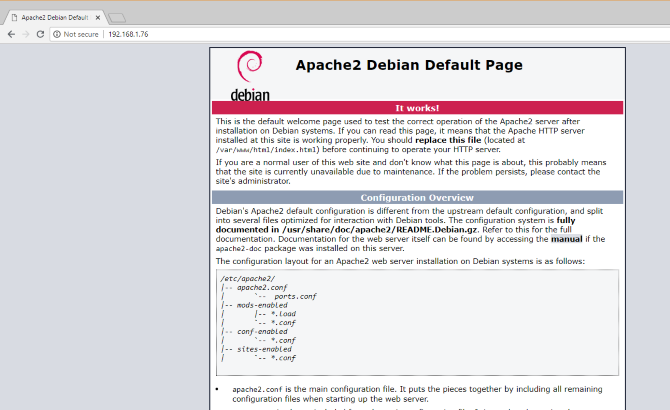 apache server installed on raspberry pi - Cómo alojar tu web de WordPress en Raspberry Pi