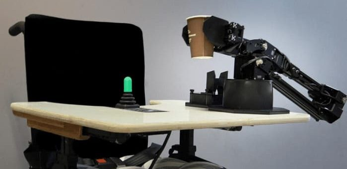 chip intel brazo robotico