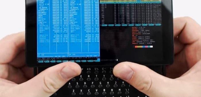 terminal de mano para Raspberry pi Zero