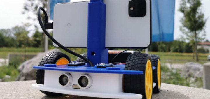 OpenBot: un robot de código abierto impreso en 3D por Intel