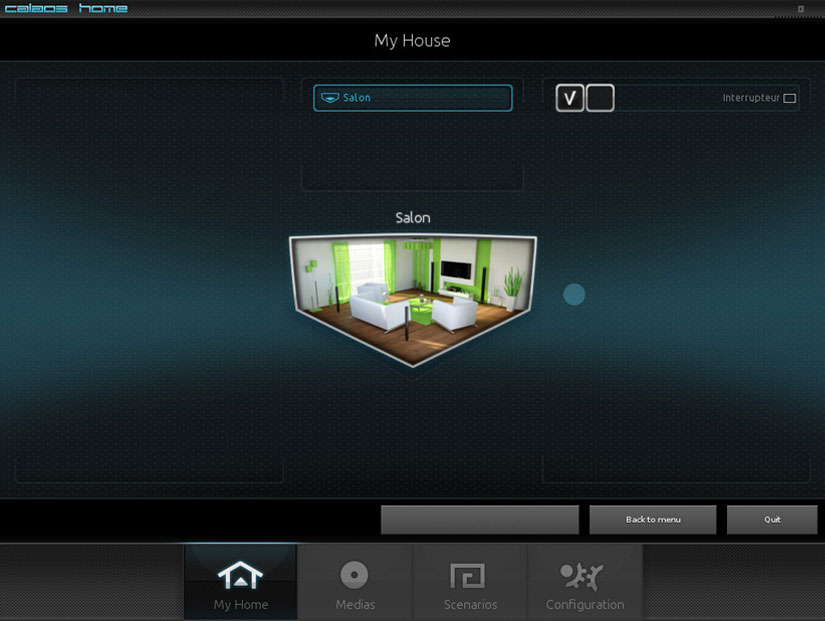 calaos - Los Mejores software para un hogar inteligente con Raspberry Pi