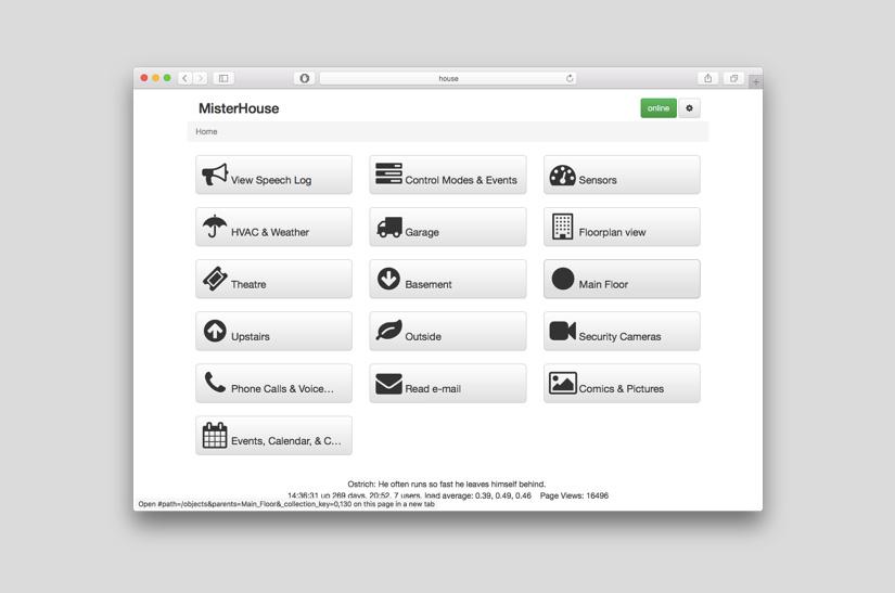 misterhouse - Los Mejores software para un hogar inteligente con Raspberry Pi