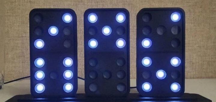Como hacer un Reloj de domino de Arduino 720x340 - Cómo hacer un Reloj de dominó de Arduino