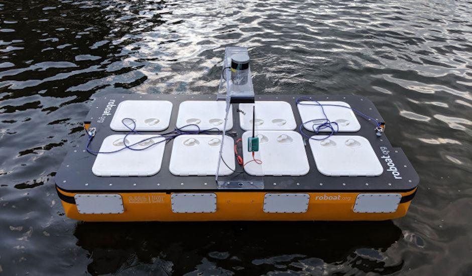 apercu du roboat ii  - Roboat II: EL MIT prueba un barco autónomo en los canales de Amsterdam