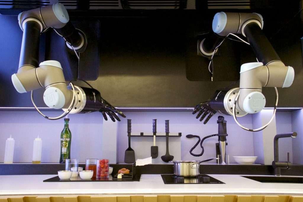 moley kitchen este robot se cocina de forma inde - Por fín un robot que cocina como un chef